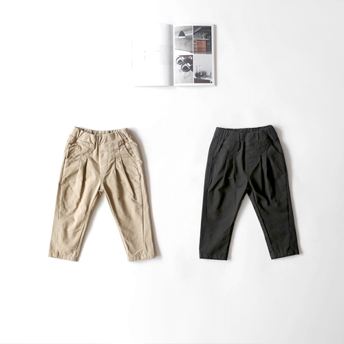 cotton pin tuck baggy -F/W season