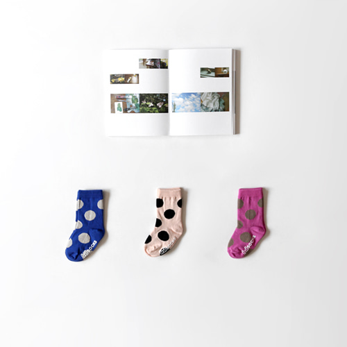 blanc dot socks (3set)