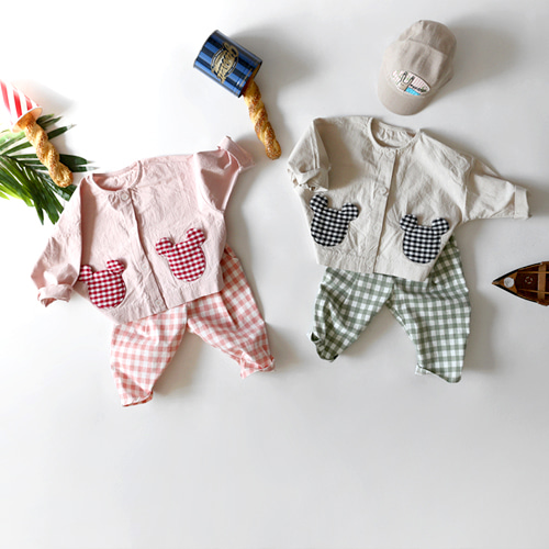 baby bear patch jk -S/S season자켓-4종*이벤트*