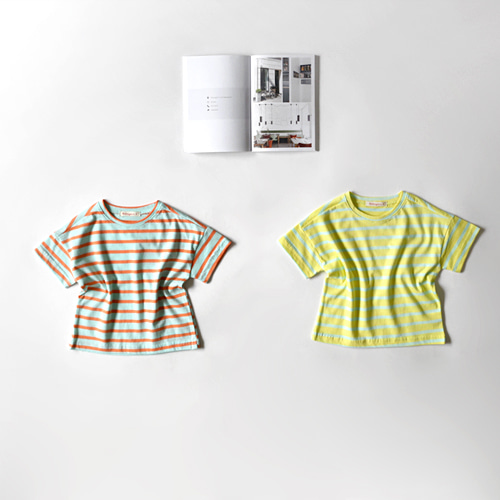 sugar stripe tee -S/S season