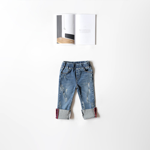 denim roll up skinny -F/W season