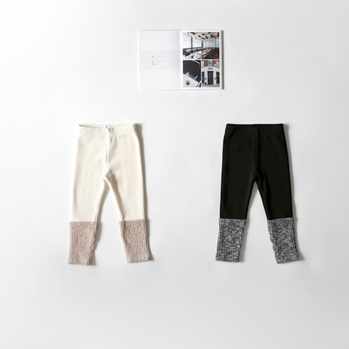 SALE nap two-tone leggings -F/W season 주문폭주 리오더중