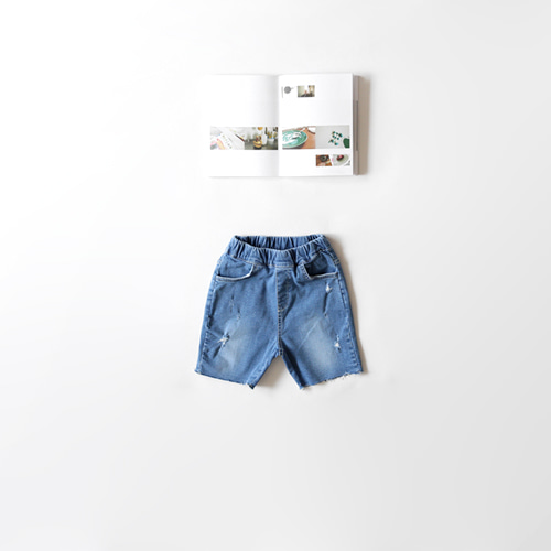cutting vintage short pants -S/S season