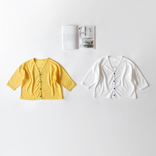 lion smile cardigan -S/S season