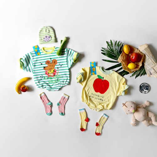 baby 8-bu lucky day jumpsuit -S/S season 2020 SUMMER 2차 리오더중