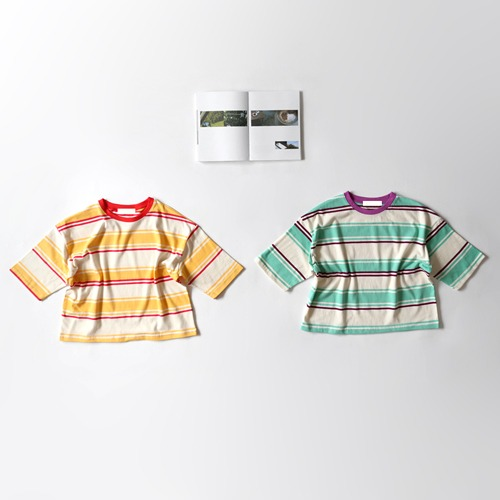 SALE multi stripe tee -F/W season