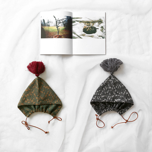 bulky tassel hat