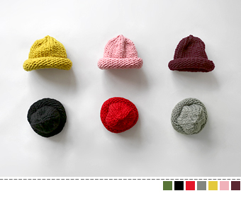 bulky knit hat