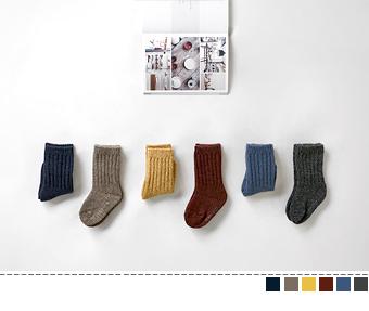 wool golgi socks (2set)