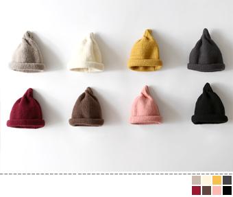 knob knit hat