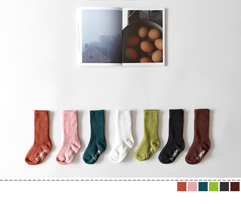 basic golgi socks(2set)