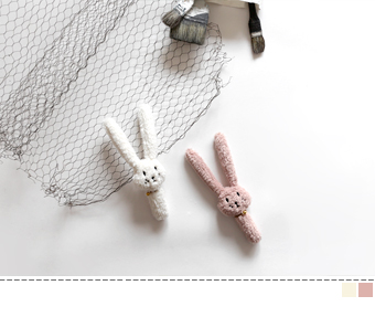 rabbit rattle stick